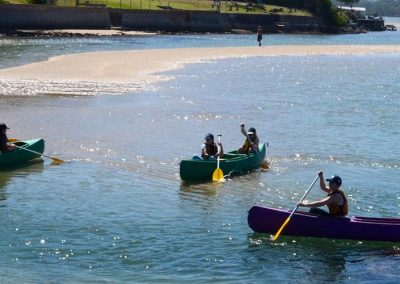 Canoeing in the Illawarra region
